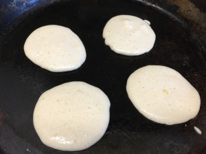 Portion into a hotpan